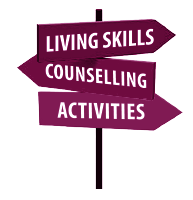 Panacea Care offer Living Skills, Counselling and Activities